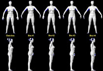 Explore Cornell - The 3D Body Scanner - Current Research C Cup Vs D Cup Comparison