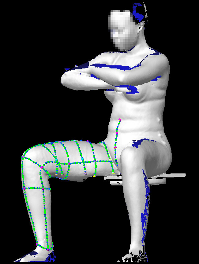 Explore Cornell - The 3D Body Scanner - Current Research ...