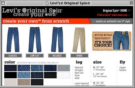 Levi Jeans Color Chart